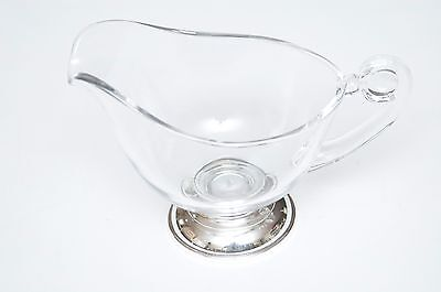 Vintage Web Sterling Silver Footed Gravy/Sauce Boat
