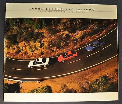 1987 Acura Catalog Sales Brochure Integra Legend Excellent Original 87
