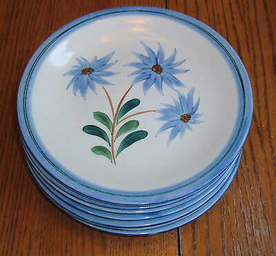 Stangl Pottery Blue Mountain Daisy #3346 ~ 9 inch Dinner Plate ~ 1943