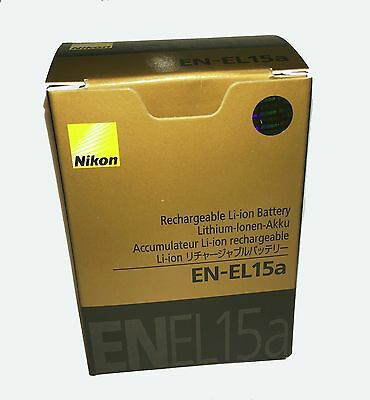 Nikon EN EL15a Genuine Battery