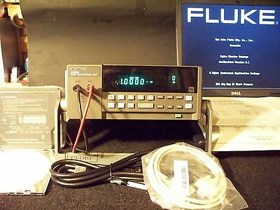 Fluke Hydra 2620A / 2645A Complete System CALIBRATED / IEEE option