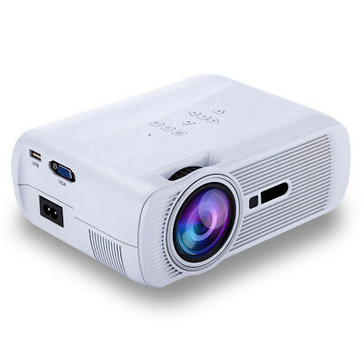 Mini proyector Home Cinema teatro casero LED HD 1080P VGA AV USB PC SD HDMI TV
