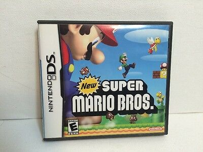 New Super Mario Bros. Nintendo DS Case and Manual Only No Game