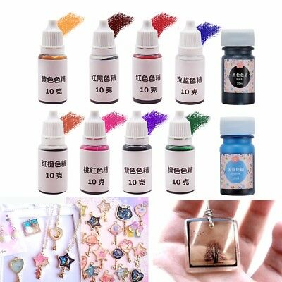 10g Epoxy Color UV Resin Pigment Coloring Dye Colorant Resin Pigment Art Crafts