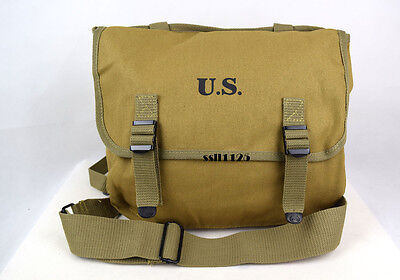 WWII US Military M1936 M36 Musette Field Bag Back Pack Haversack