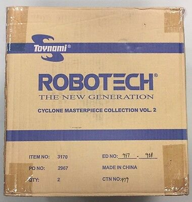 New Robotech Masterpiece VR-052T RAND Volume 2 Cyclone