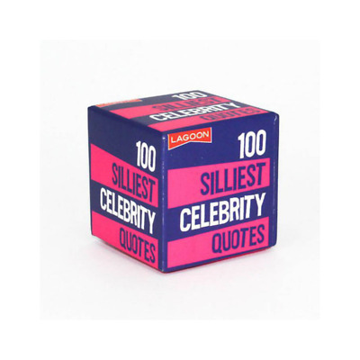 Little Boxes Of Random Fun - 100 Silliest Celebrity Quotes