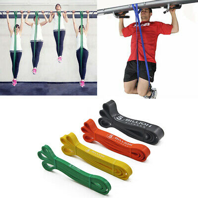 Latex Resistance Band Pull Up Assist Bands Exercise Powerlifting Heavy Loop Band