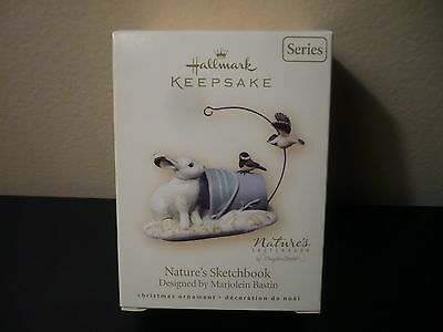 Hallmark Keepsake 2007 Natures Sketchbook Marjolein Bastin 5th Ed.