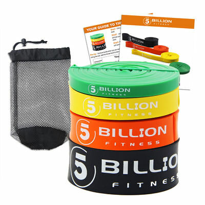 Pull Up Assist Bands Exercise Resistance Bands Streching Band Latex 5BILLION