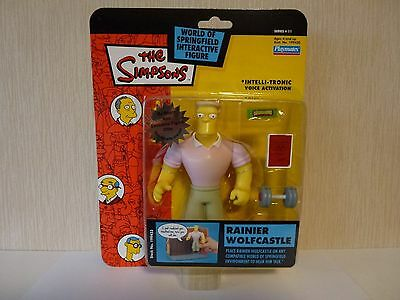 Simpsons World of Springfield WoS Interactive Action Figure Rainier Wolfcastle