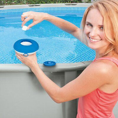 Intex Chemical Dispenser Bromine for Swimming Pool Spa Floating Chlorine Hot Tub