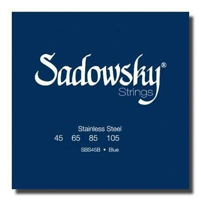 NEW SADOWSKY Sadowsky Blue Label Stainless Steel 4 string