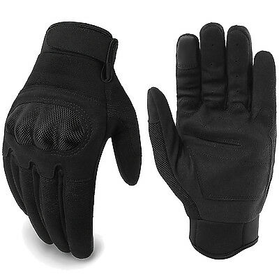 Touch Screen Military Tactical Airsoft Hunting Hard Knuckle Full Finger Gloves