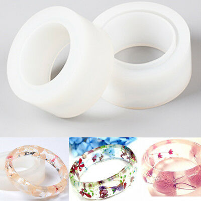 Round Silicone Mold Mould DIY Resin Bracelet Bangle Jewelry Making Crafts 58mm