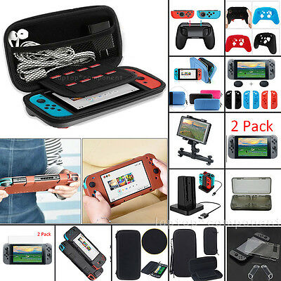 For 2017 Nintendo Switch 2DS 3DS XL LL Travel Carrying Bag Case W/ Accessories