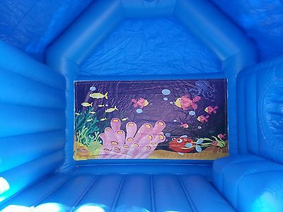 "commercial jumping castle jump ""n"" slide"