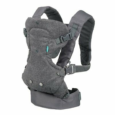 Infantino Flip Advanced 4-in-1 Convertible Carrier, Light Gray
