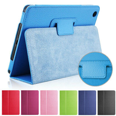 New Luxury Magnetic Smart Flip Cover Stand Wallet PU Leather Case For iPad Model
