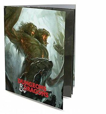 Ultra Pro Dungeons & Dragons Character Demogorgon Portfolio Holds 36 Spell Cards
