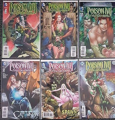 Poison Ivy Cycle of Life and Death 1 2 3 4 5 6 | DC Rebirth | FP | Complete | NM