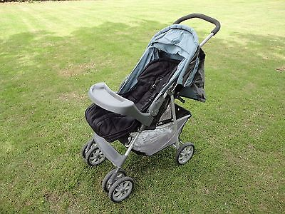 Mothercare Pushchair in immaculate condition with sun canopy and rain cover