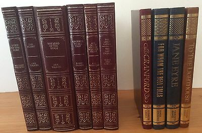 10 beautiful hardback books ideal for display/reading classic titles vgc
