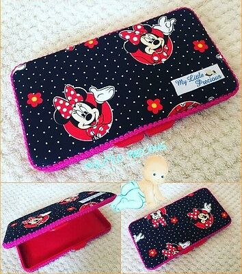 Minnie Mouse Wipes Small Travel Case. Wipes Case Wipes Cover Case