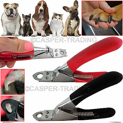 Stainless Steel Dog Pet Cat Nail Toe Claw Clippers Trimmers Scissors Cutter Tool