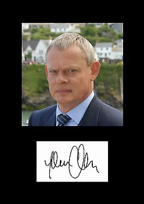 Martin Clunes Pre-Print Top Quality Professionally Printed Signed Photo(copy)