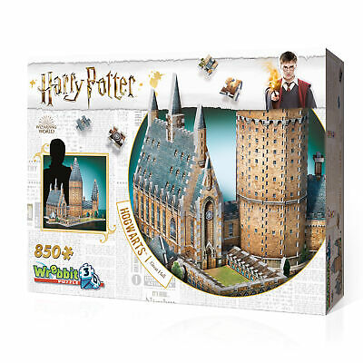 Harry Potter (Puzzle) Hogwarts Große Halle 3D  Harry Potter Wrebbit Puzzle 3D
