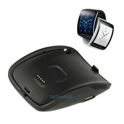 2Pcs Charging Dock Cradle Charger Kit for Samsung Gear S Smart Watch SM-R750 #S5