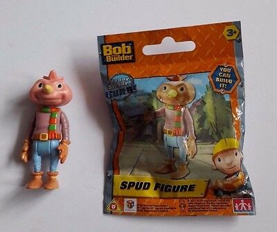Hit Toy Co. Bob The Builder Spud Movable Figure 6.5 Cm Ages 3 + Free P&p