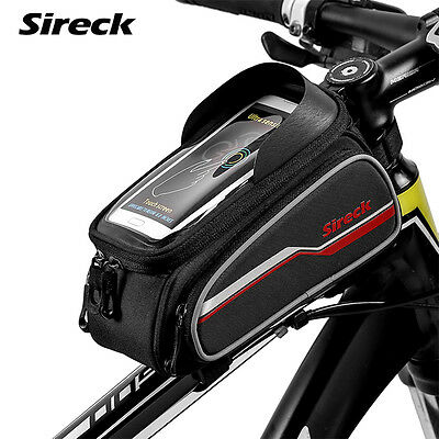 Sireck MTB Mountain Road Bike Bicycle Front Frame Bag Top Tube Bag Accessories