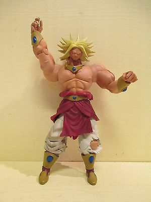 "DragonBall Z Super Sayian 10"" BROLY Movie Collection Limited Edition 2003 JAKKS"