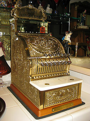 National Cash Register,candy Store Model 313-Antique Brass-Special Ed.w/certs