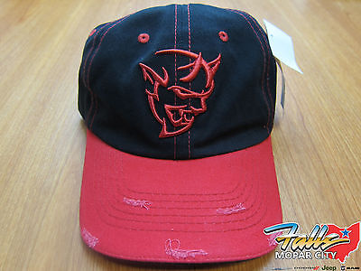 DODGE Demon Logo Hat Cap