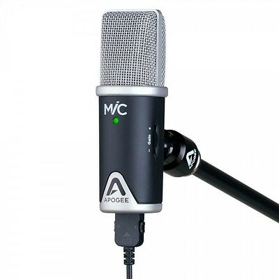 Apogee Mic 96K Interface With Stand & Adapter for Windows & MacOS *New*
