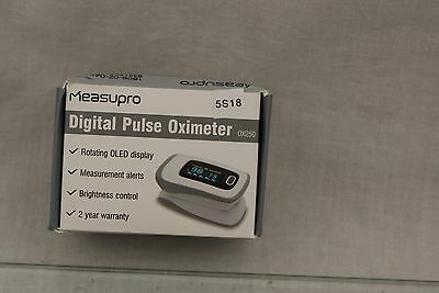 MeasuPro Instant Read Digital Pulse Oximeter, Oxygen Sensor and Pulse Rate 5S18