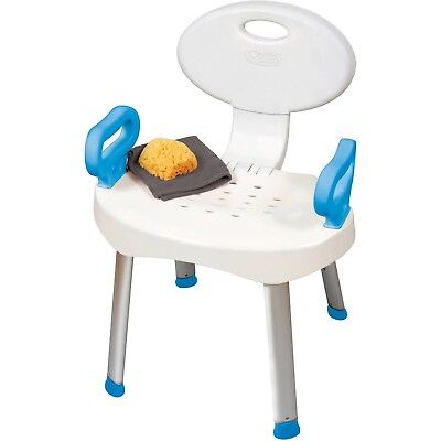 Carex E-Z Bath and Shower Seat Chair with Handles
