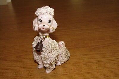 Vintage Pink/Gold Spaghetti Poodle