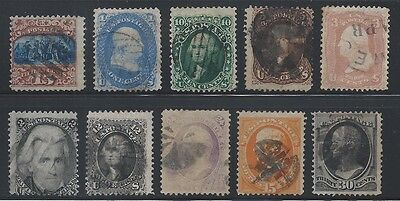 Lot#1 - Collection of Old US Stamps