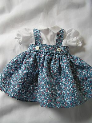 Blue  Doll Dress for P-90 14 Inch  Toni Doll