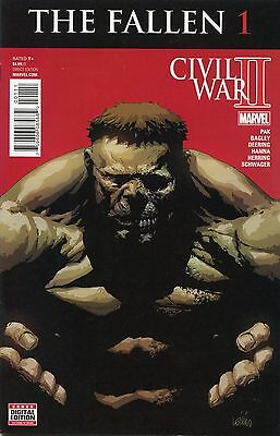 2016 The Fallen Civil War Ii #1  Marvel Comics  Vf-Nm