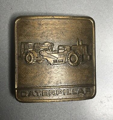 Caterpillar Tractor Vintage Tractor Belt Buckle