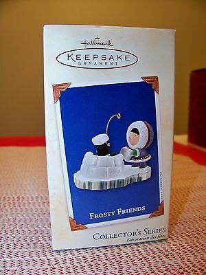2002 Hallmark Ornament  Frosty Friends #23 in Series New in Box MINT Condition