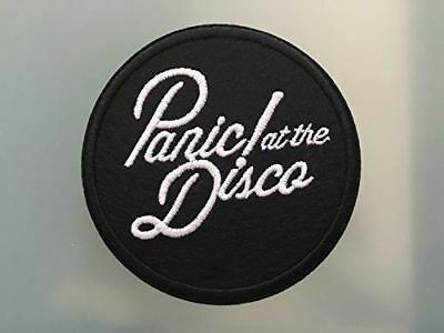 """PANIC AT DISCO - Embroidered Iron On Patch 3 """""""