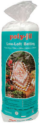 Low Loft Bonded Polyester Batting L72