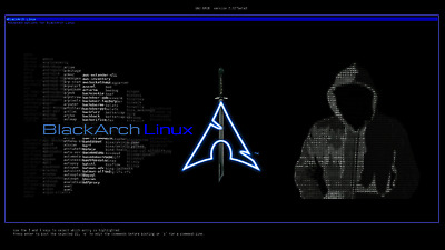 BlackArch Linux OS 32GB USB Penetration Test Hacking over 2400 tools