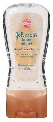 Johnson's Baby Oil Gel Shea & Cocoa Butter 6.5 Oz